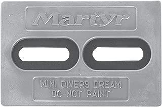 Martyr CMDIVERMINIM, Magnesium Alloy Pleasurecraft Mini Divers Dream Slotted Bolt-on