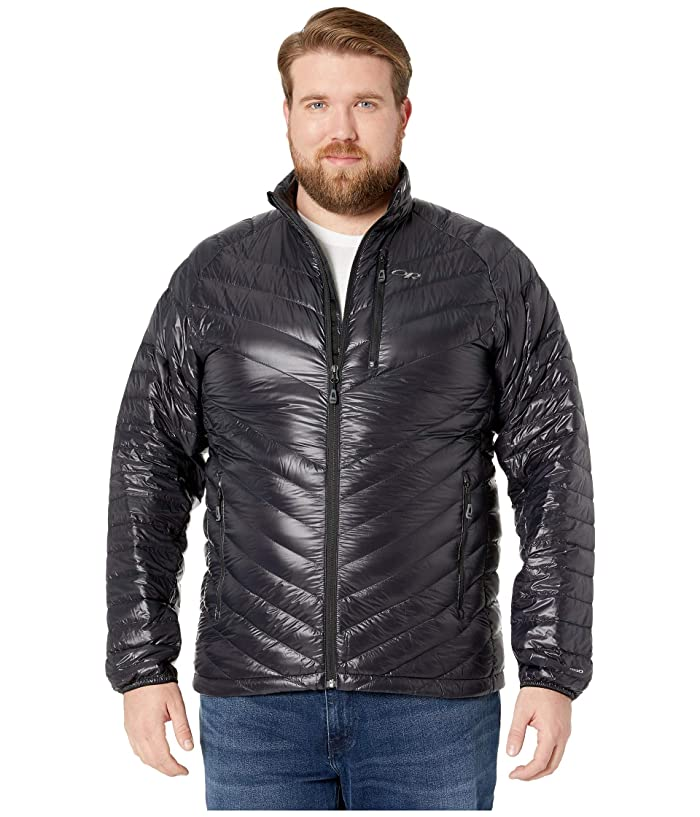 Outdoor Research Illuminate Down Jacket (Black) Men