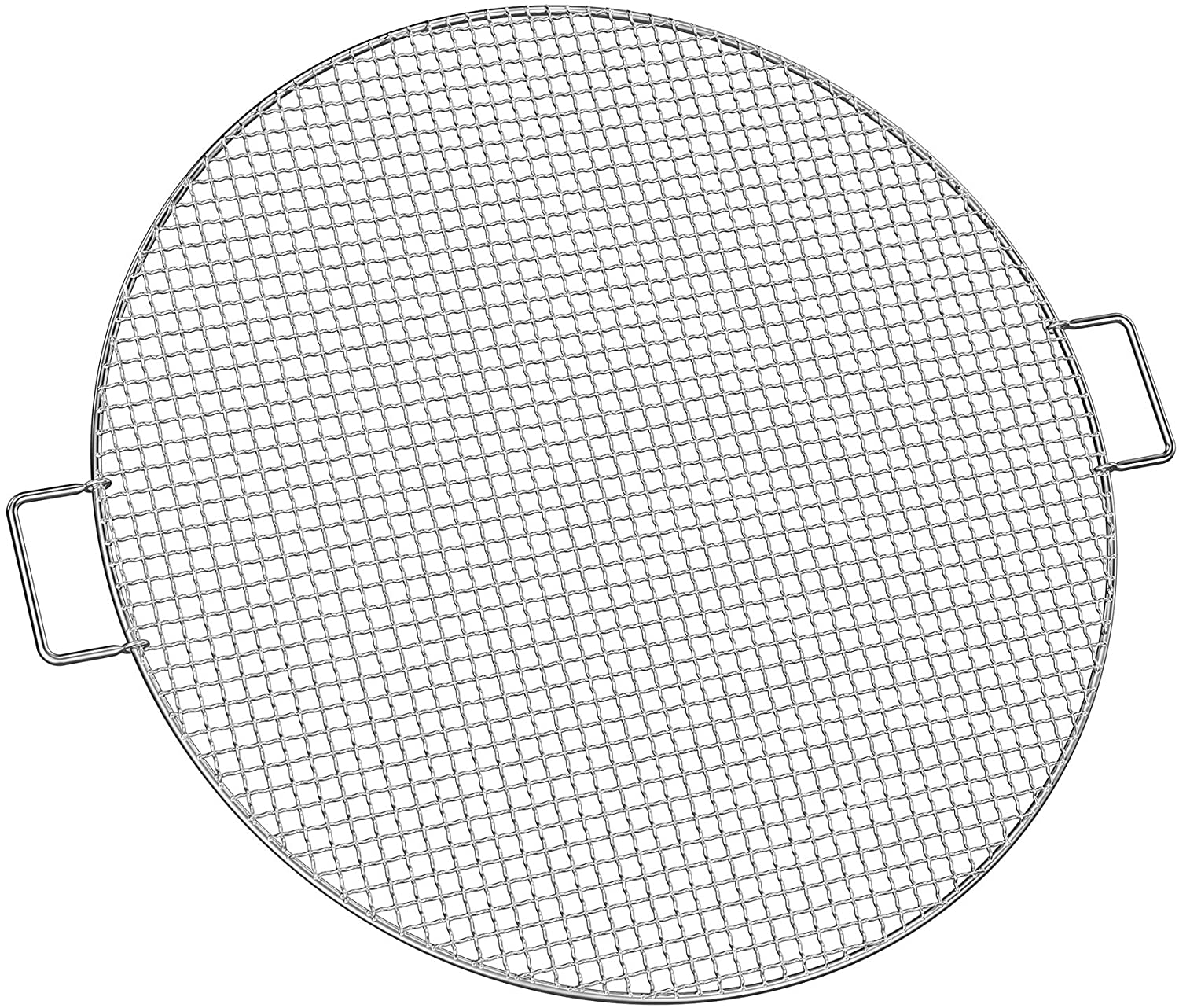 Stanbroil Fire Pit Cooking Grill Grate - Outdoor Round BBQ Campfire Grill Grid - Camping Cookware - Stainless Steel, 24 Inch