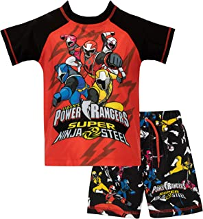 Power Rangers Boys Ninja Steel Swim Set