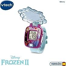 VTech Frozen 2 Reloj Digital (Anna y Elsa), Multicolor, ú
