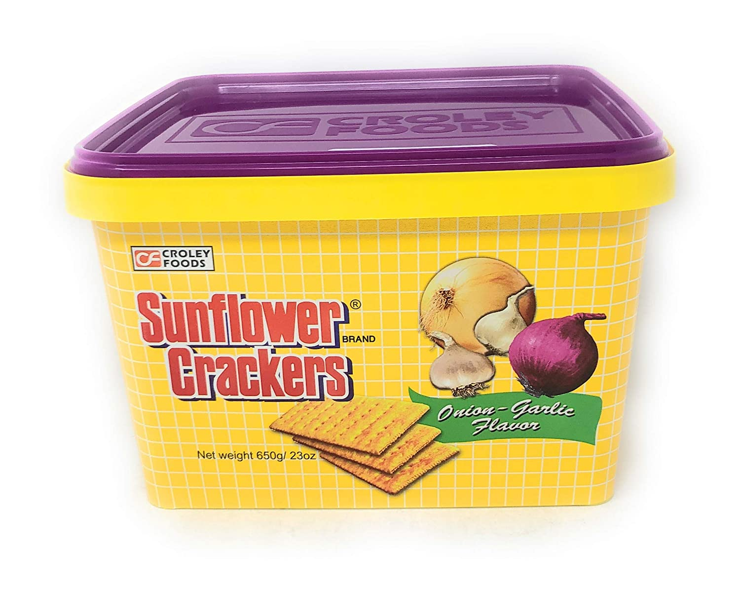 Dealing full price reduction Outlet ☆ Free Shipping Croley Foods Sunflower Crackers Onion-Garlic Cream Sandwh Flavor