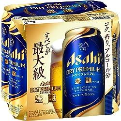 アサヒ ドライプレミアム豊醸 500ml×6缶パック