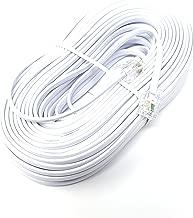 Maincore Blanc Lot de 100//c/âble rond Clips Fixations S/ûres