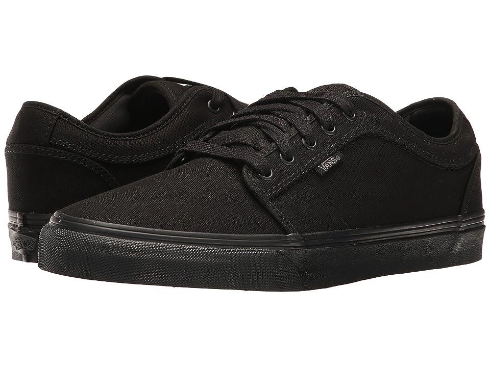 Vans Chukka Low (Blackout) Men's Skate Shoes