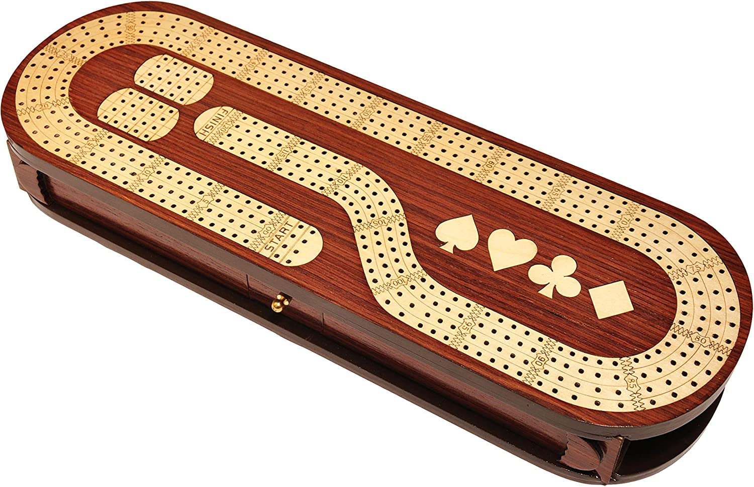 Palm Royal Handicrafts - 4 Track with Made Board ついに再販開始 Rose Cribbage 商い W