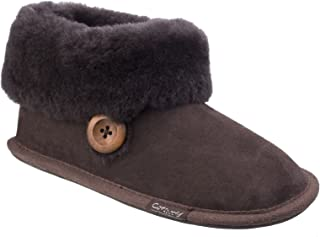 Cotswold Womens/Ladies Wotton Sheepskin Soft Leather Booties