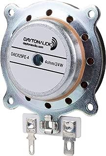 Dayton Audio DAEX25FHE-4 Framed High Efficiency 25mm Exciter 24W 4 Ohm