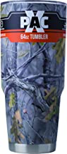 X-PAC Double Vacuum Wall Stainless Steel Tumbler with Lid, 64 Ounce, Camo