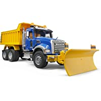 Deals on Bruder Mack Granite Dump Truck w/Blade 2825