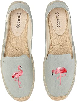 Flamingo Chambray