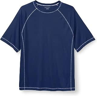 Amazon Essentials Men's Big and Tall Big & Tall Short-Sleeve Quick-Dry UPF 50 Swim Tee