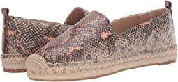Mesa Nude/Peach Fizz Exotic Snake Print Leather