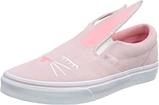 42ebb40e46fd34 Vans Slip-On Bunny Chalk Pink True White Kids Sneakers Shoes