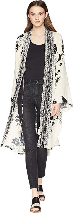 Billabong Sea The Sun Kimono Cardigan