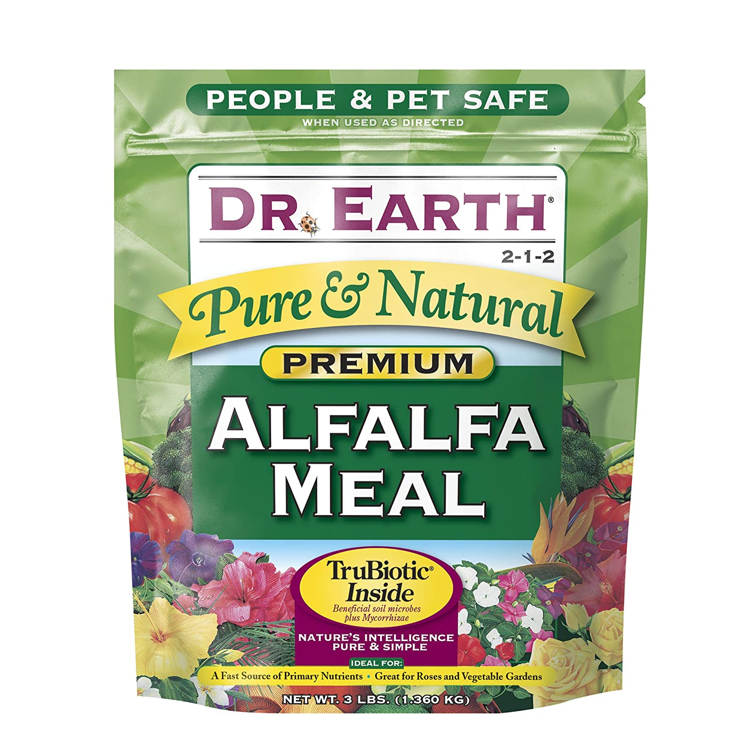 Dr. Earth Pure & Natural Alfalfa Meal 3 lb