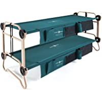 Disc-O-Bed Cam-O-Bunk Cot with Organizers