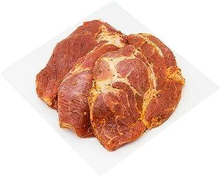 Marinated Pork Collar Steak Black Pepper, 300g - Frozen