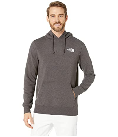 The North Face Red Box Pullover Hoodie (TNF Dark Grey Heather/TNF White) Men