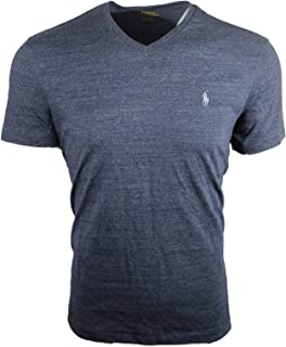 Mens V-Neck Cotton T-Shirt