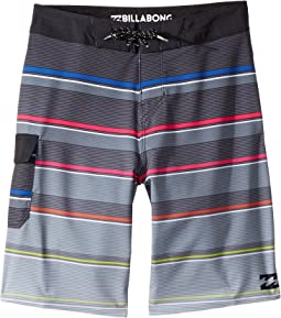 All Day X Stripe Boardshorts (Toddler/Little Kids)