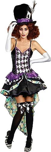 hasta un 50% de descuento Raving Mad Mad Mad Hatter Wohombres Fancy Dress Costume Large  tomar hasta un 70% de descuento