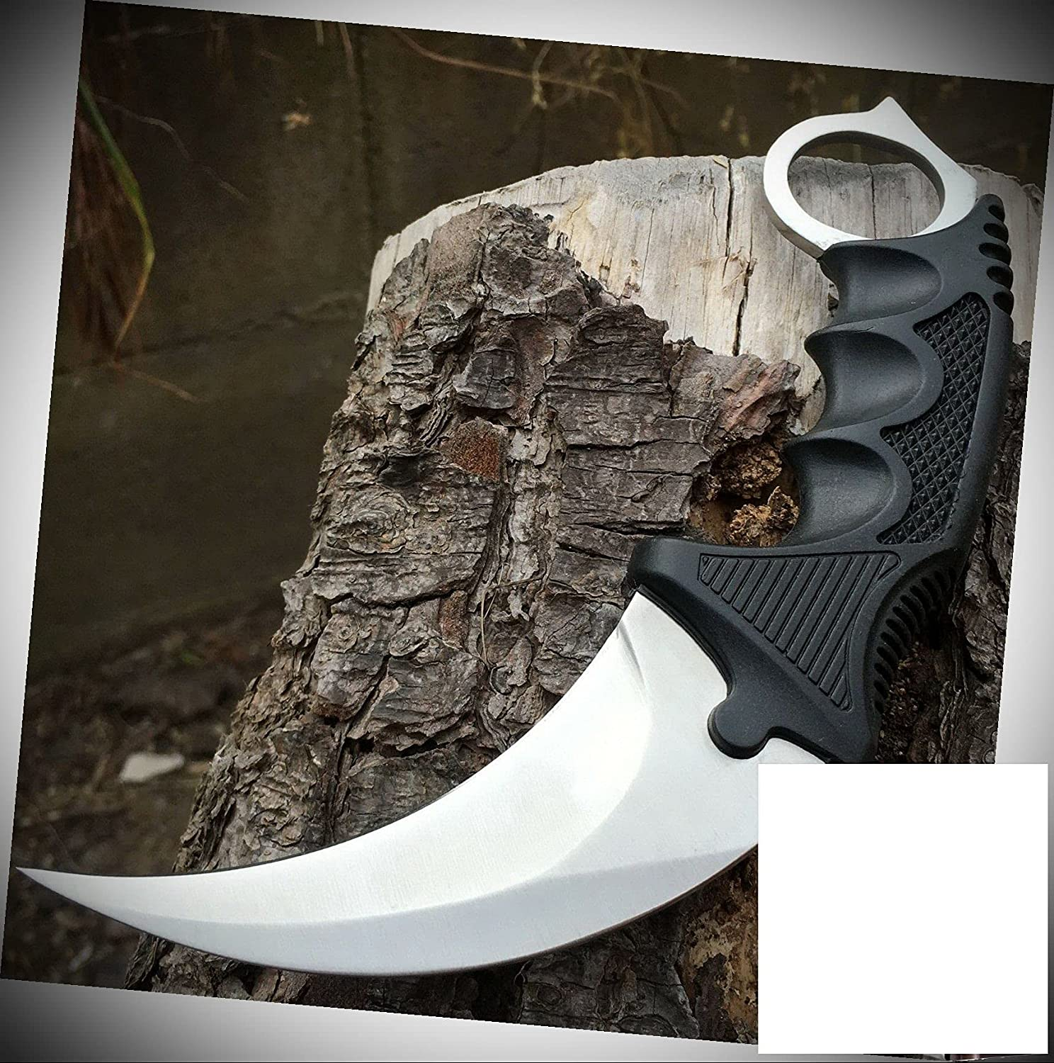 Max 78% OFF Combat Karambit Courier shipping free shipping Stainless Steel Blade Fix Knife Survival Hunting
