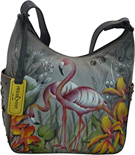 Anuschka Women's Genuine Leather Shoulder Bag