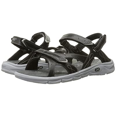 Hi-Tec Soul-Riderz Strap (Black/Charcoal/Grey) Women