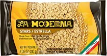La Moderna Stars Pasta, 7-Ounce (Pack of 20)