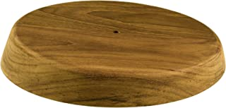 Whitecap Industries 60476 Canted Teak Winch Pad - 6-1/2 Top Diameter, 15? Angle