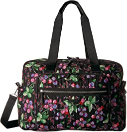 Vera Bradley Luggage - Iconic Deluxe Weekender Travel Bag