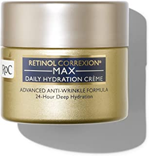 RoC Retinol Correxion Max Daily Hydration Anti-Aging Crème with Hyaluronic Acid, 1.7 Ounces