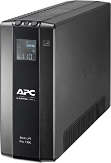 APC 1300VA Back UPS Pro BR, 8 Outlets, AVR, LCD Interface