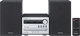 Panasonic Micro Hi-Fi System with Versatile Audio Technology and Bluetooth Compatability (SC-PM250GN-S)