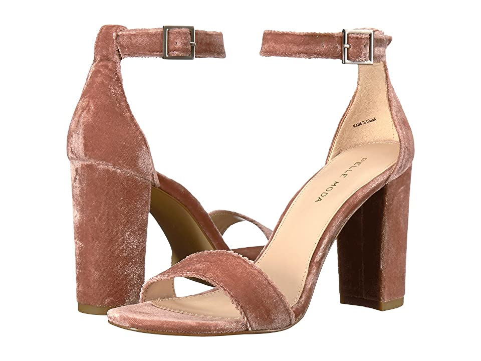 Pelle Moda Bonnie (Blush Velvet) Women