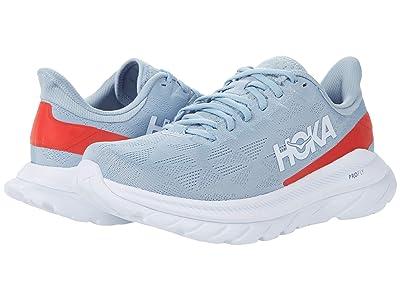 Hoka One One Mach 4 (Blue Fog/Fiesta) Men