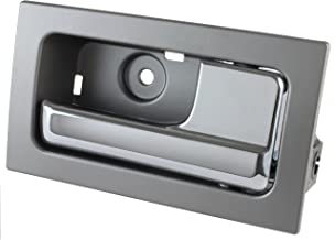 IAMAUTO 10848 Door Handle Inside Inner Chrome/Platinum For 2009 2010 2011 2012 2013 2014 Ford F150 Right Front & Rear