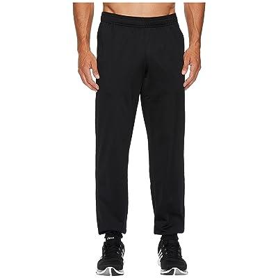 adidas Essentials 3S Tapered Tricot Pants (Black/Black) Men
