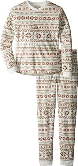 Fair Isle Velour 2-Piece Jammies Set (Toddler/Little Kids/Big Kids)