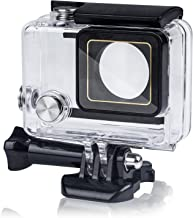 Beinhome Waterproof Housing Case for GoPro Hero 3+ 4, Anti-Scratch Protective Cover Shell for 45 Meters Underwater Use with Quick Release Mount and Thumbscrew