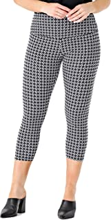Intro Tummy Control High Waist Pull-On Capri Length CottonSpandex Legging