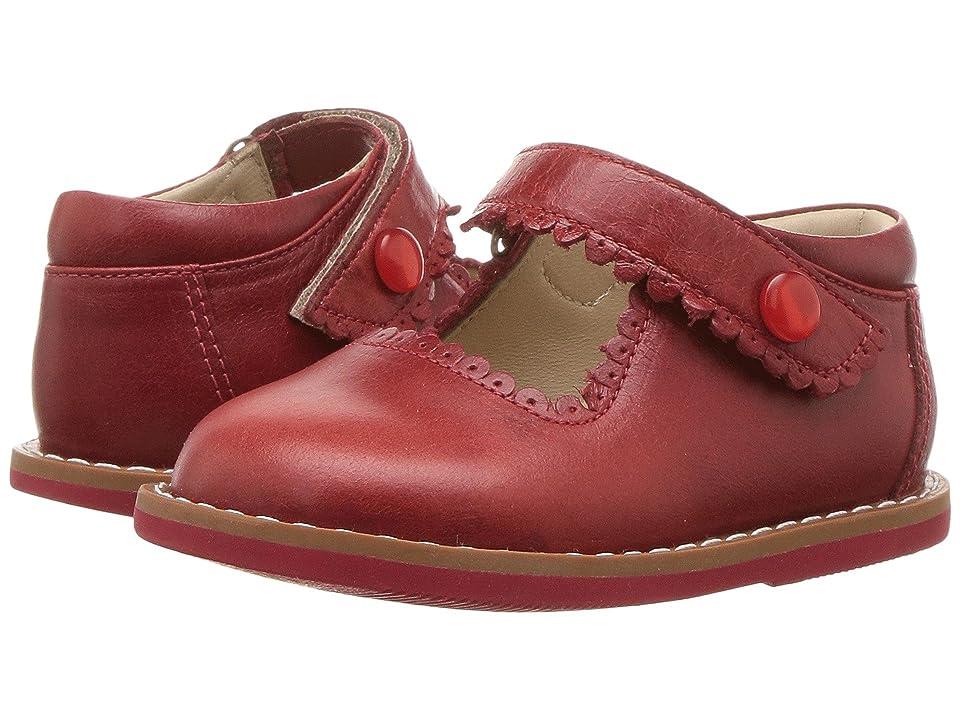 Elephantito Mary Jane (Toddler) (Chili Red) Girls Shoes