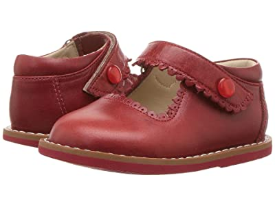 Elephantito Mary Jane (Toddler) (Chili Red) Girls Shoes
