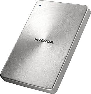 I-O DATA ポータブルハードディスク「カクうす」 USB 3.0/2.0対応 1.0TB シルバー HDPX-UTA1.0S