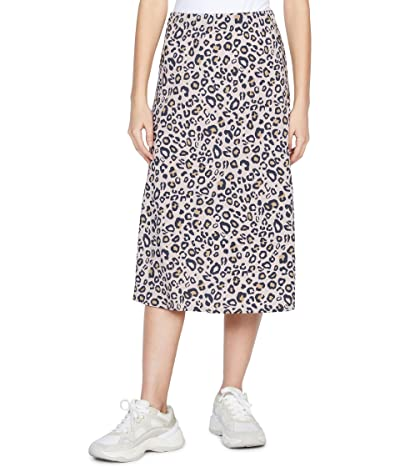 Sanctuary Everyday Midi Skirt (Neutral Spots) Women