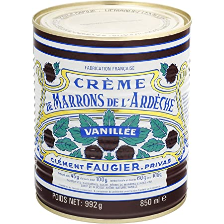 Gourmet Chestnut Spread From France 35 Oz BIG CAN