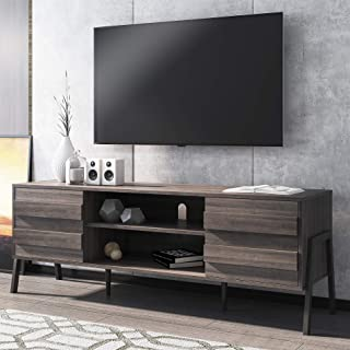 Amazon Com Television Stands 65 Inches Up Television Stands Entertainment Centers Home Kitchen