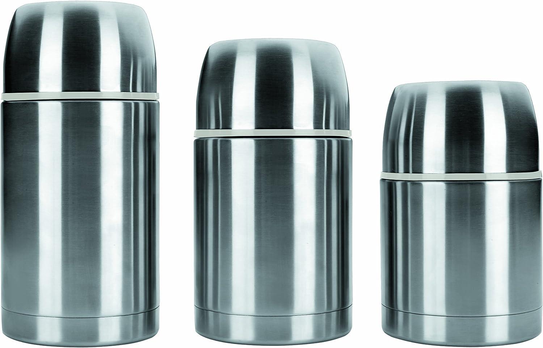 Ibili 753906 - Termo para sólidos, inox, 550 ml, 12 x 12 x 18 cm (1 unidad)