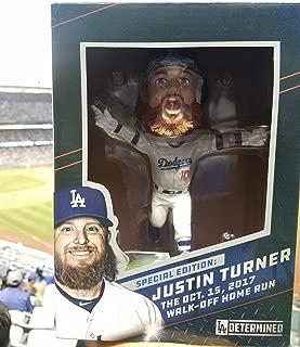 Justin Turner 2018 Los Angeles Dodgers Walk Off Home Run Oct 15, 2017 Bobblehead SGA